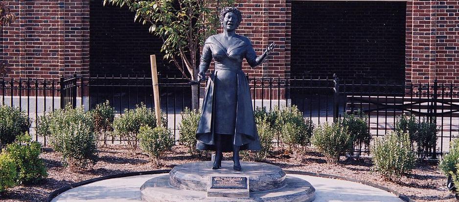 Ella Fitzgerald Statue